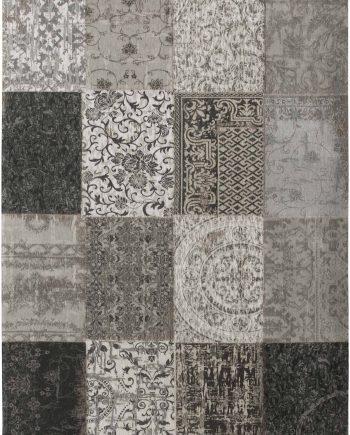 rugs Louis De Poortere CA 8101 Vintage Black White