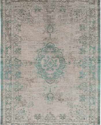 rugs Louis De Poortere CA 8259 Fading World Medaillon Jade Oyster