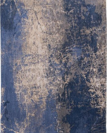 rugs Louis De Poortere CA 8629 Mad Men Cracks Abyss Blue