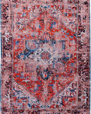 rugs Louis De Poortere CA 8703 Antiquarian Antique Heriz Classic Brick