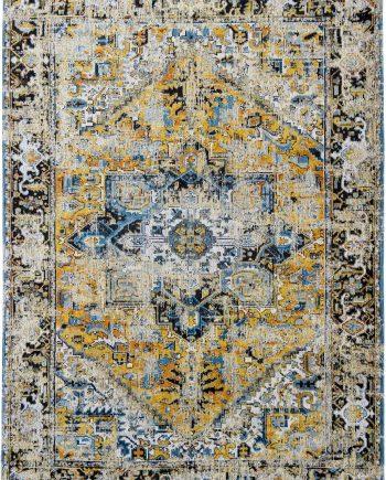 rugs Louis De Poortere CA 8704 Antiquarian Antique Heriz Amir Gold