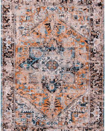 rugs Louis De Poortere CA 8705 Antiquarian Antique Heriz Seray Orange