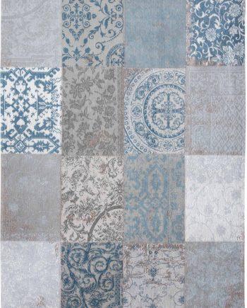 rugs Louis De Poortere CA 8981 Vintage Bruges Blue